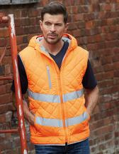 Hi Vis Kensington Hooded Gilet